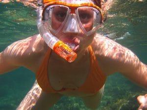 Nur bei kurzer Wartung entstehen Schnappschüsse mit einer Unterwasserkamera