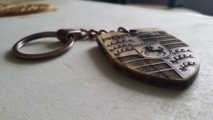 Schlüsselanhänger Holz