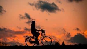 Radfahren ein beliebter Zeitvertreib